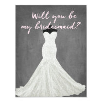 Fabulous Dress | Bridesmaid Invitation