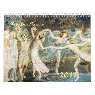 Fabulous Faeries 2011 Calendar
