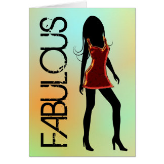 Fabulous Fashion Diva Greeting Cards
