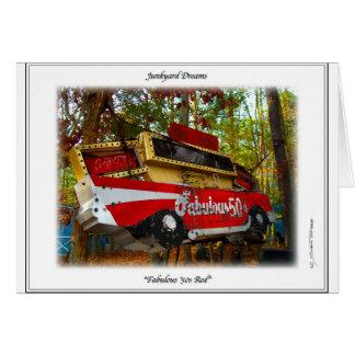 Fabulous Fifties 57 Chevy Belair Nostalgia Sign Card