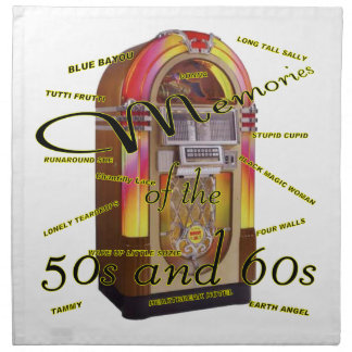 Fabulous fifties juke box American MoJo Napkin