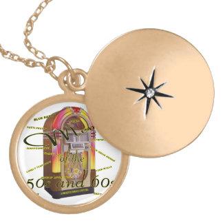 Fabulous fifties juke box locket necklace