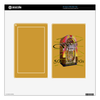 Fabulous fifties juke box Zazzle Skin Kindle Fire Skin