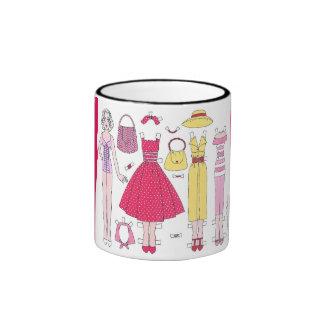 Fabulous Fifties: Marilyn Paper Doll Art Mug
