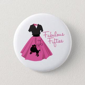 Fabulous Fifties Pinback Button