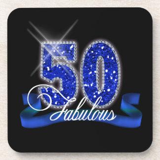 Fabulous Fifty Sparkle Coaster