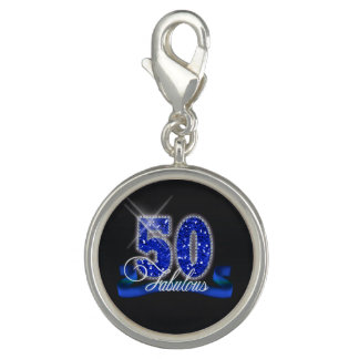Fabulous Fifty Sparkle ID191 Charms