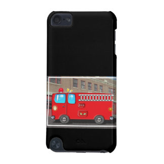 Fabulous Fire Truck and Fire Station iPod Touch 5G Cover