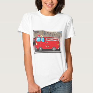 Fabulous Fire Truck and Fire Station Tees