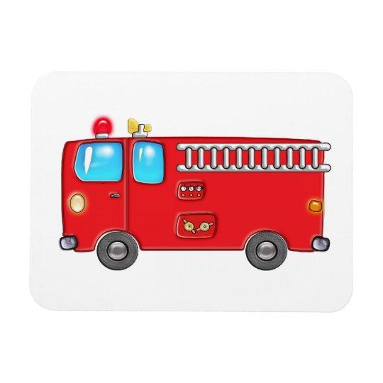 Fabulous Firetruck Magnet
