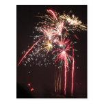 Fabulous Fireworks Postcard
