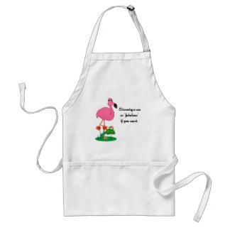 Fabulous Flamingo Apron