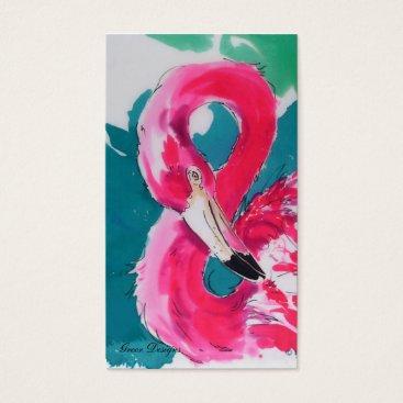 Professional Business Fabulous Flamingo Business Cards