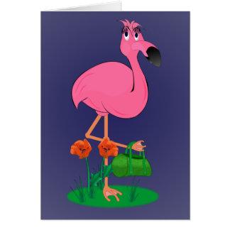 Fabulous Flamingo Greeting Card
