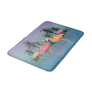 Fabulous Flamingos Bath Mat