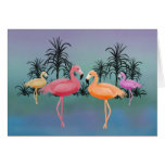 Fabulous Flamingos Cards