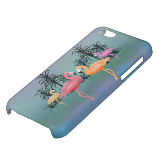 Fabulous Flamingos iPhone 5C Cover