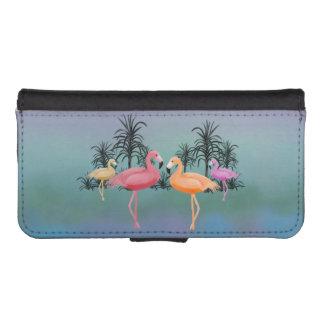 Fabulous Flamingos iPhone SE/5/5s Wallet