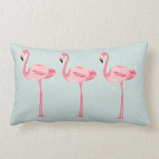 Fabulous Flamingos Lumbar Pillow