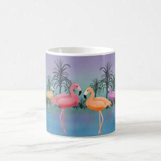 Fabulous Flamingos Classic White Coffee Mug