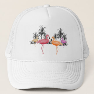 Fabulous Flamingos Trucker Hat