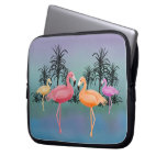 Fabulous FlamingosLaptop Sleeve Laptop Sleeves
