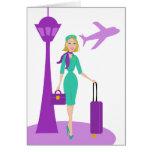Fabulous Flight Attendant Cards