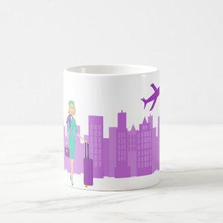 Fabulous Flight Attendant Coffee Mug