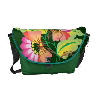 Fabulous Floral Courier Bag