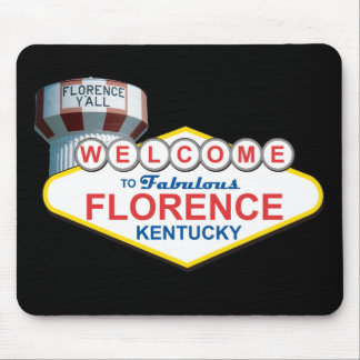 Fabulous Florence Ky Mousepad