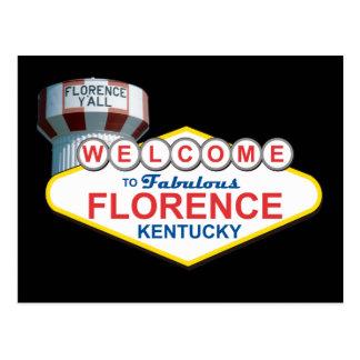 Fabulous Florence Ky Postcard