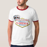 Fabulous Florence Ringer T T Shirt