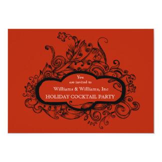 Fabulous Flourish Invitation