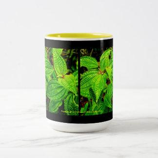 Fabulous Foliage Design Two-Tone Coffee Mug
