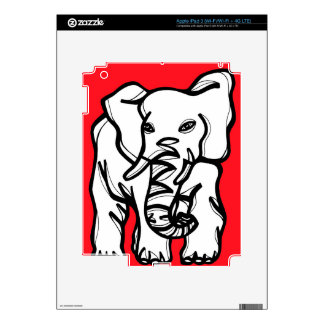 Fabulous Fortunate Tops Classical Decals For iPad 3
