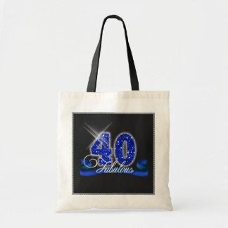 Fabulous Forty Sparkle ID191 Tote Bag