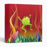 Fabulous Frog - binder / folder