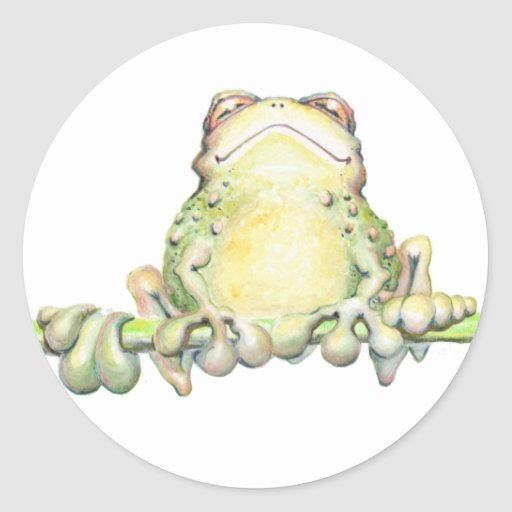 Fabulous Frog Stickers