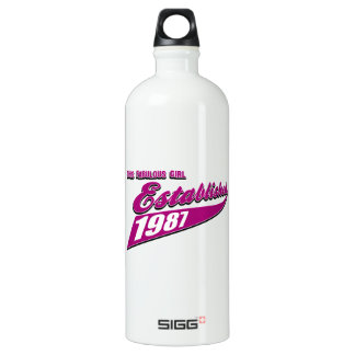 Fabulous Girl established 1987 SIGG Traveler 1.0L Water Bottle