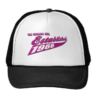 Fabulous Girl established 1988 Trucker Hat