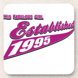 Fabulous Girl established 1995 Coaster