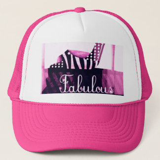 Fabulous High Heel Shoe Trucker Hat