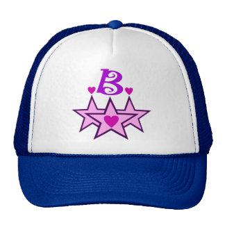 ╚»★Fabulous Initial B Stylish Trucker Hat★«╝ Trucker Hat