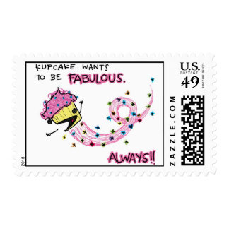 Fabulous Kupcake for Mail! Stamps