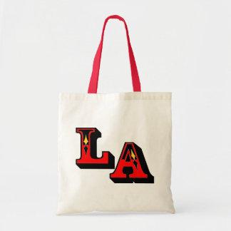 •°♥§Fabulous LA Logo Stylish Budget Tote Bag§♥°•