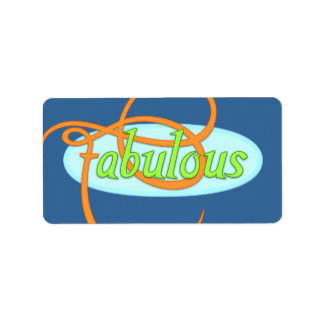 Fabulous Label