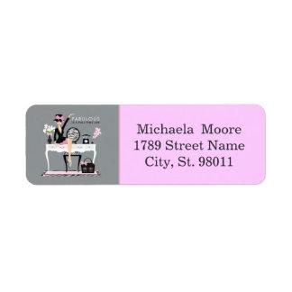 Fabulous Return Address Label