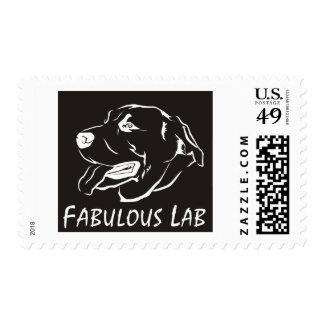 Fabulous Labrador Retriever Postage Stamp