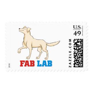 Fabulous Labrador Retriever Stamp