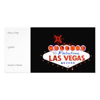 Fabulous Las Vegas - at night Card